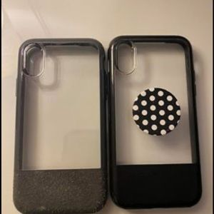 2 Otterbox IPhone XS cases